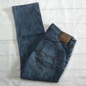 AEO Extreme 4 Distressed Straight Leg Jeans 34x30